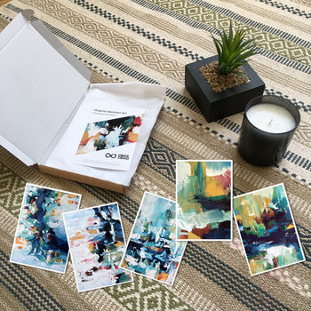 Abstract Art Gift Subscription Box