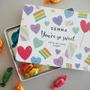 Personalised Sweet Tin Gift Box