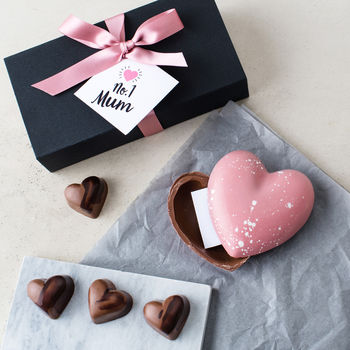 Mother's Day Chocolate Heart With A Secret Message