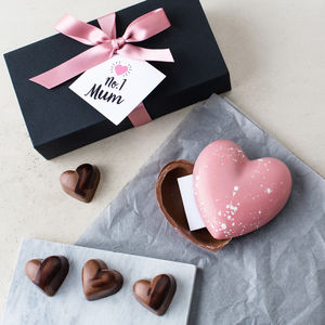Mother's Day Chocolate Heart With A Secret Message - gifts from older children