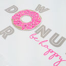 Donut Worry, Be Happy Screen Printed Wall Art