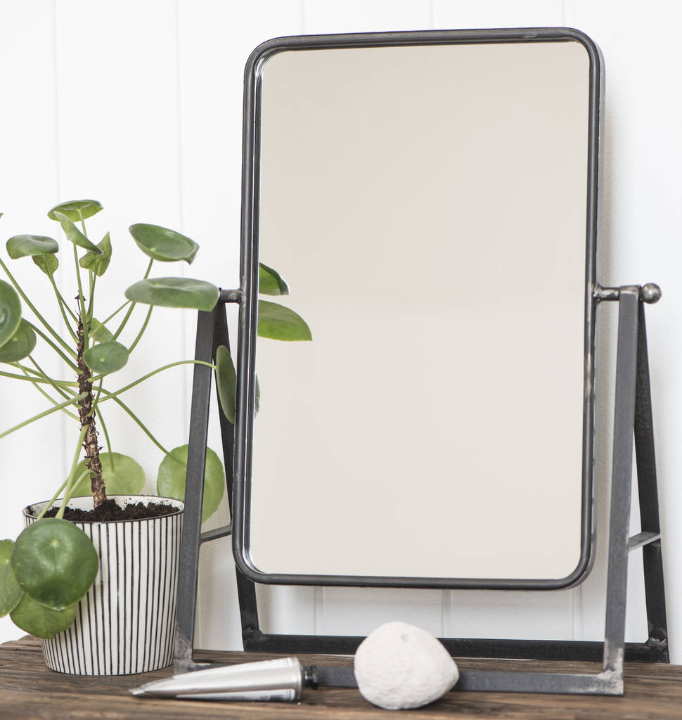Industrial Dressing Table Mirror By The Little House Shop