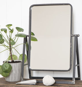 Industrial Dressing Table Mirror - mirrors