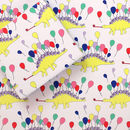 Party Animal Stegosaurus Dinosaur Wrapping Paper