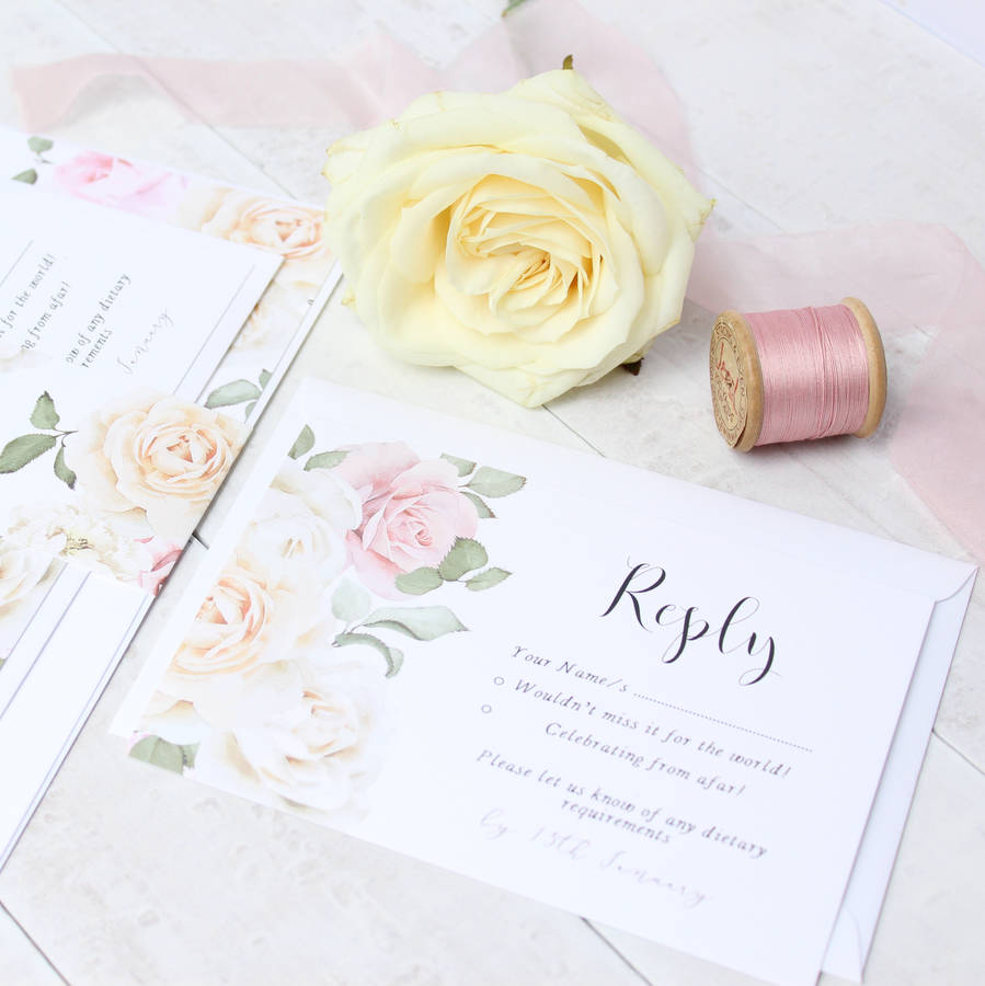 Secret Garden Wedding Invitation Sample Pack