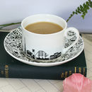 South East London Teacup And Saucer Set