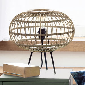 Bamboo Table Lamp - natural materials