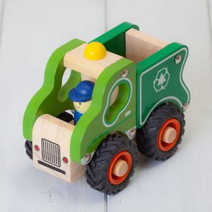 Childrens Recycling Lorry Wooden Toys - wooden toys