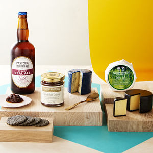 Traditional Cheese And Ale Gift Set - hampers