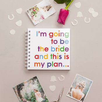 Im Going To Be The Bride Wedding Plans Notepad