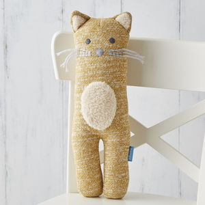 Connie Cat Soft Knit Toy