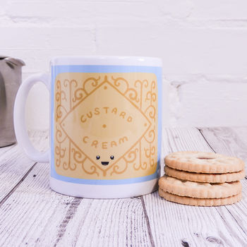 Cute Custard Cream Mug