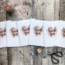 Thank You Cards Set Of Six