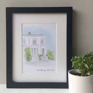 Personalised House Portrait - photography & portraits