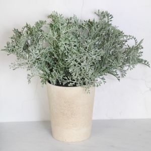 Artificial Jacobaea Potted Plant - home accessories