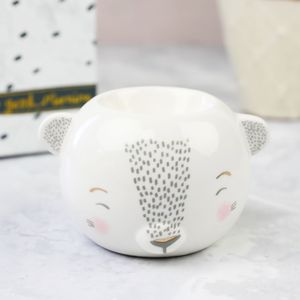 'Over The Moon' Bear Egg Cup - egg cups & cosies