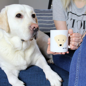 My Favourite Human, Personalised Dog Mug - mugs