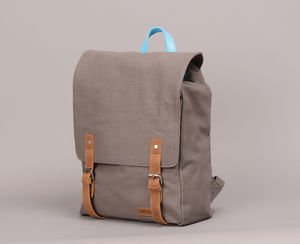 Canvas Backpack - men's accessories