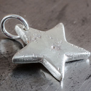 Personalised Large Star Charm