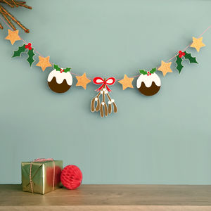 Sparkly Christmas Garland - christmas decorations