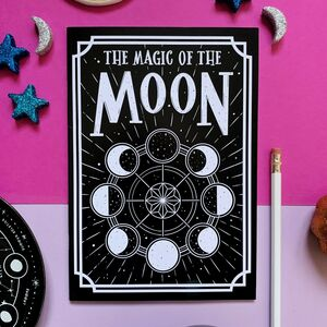 Moon Phases Notebook