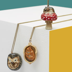 Woodland Friends Necklace Collection - necklaces & pendants