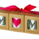 Mothers day MUM Alphabet Votive Candle Set