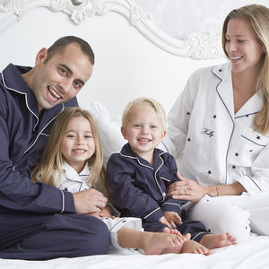 Personalised Family Pyjamas - mother & child sets