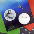 Personalised Big Brother Badge
