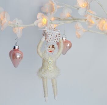 Fairy Style Christmas Decoration Dotty Gift Girl