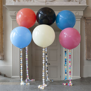 Pastel Rainbow Circle Tail Giant Balloon - outdoor decorations