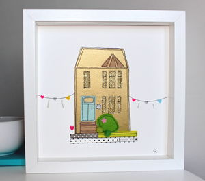 Personalised House Artwork
