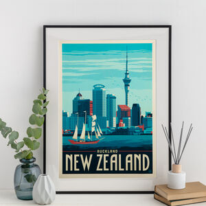 New Zealand Travel Print