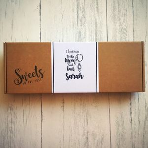 Love You To The Moon And Back Sweets Box