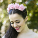 Wild Rose Flower Crown Spring Summer Colours