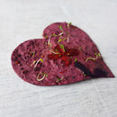 'Plant a Heart' Seed Paper Gift