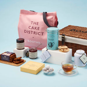 Afternoon Tea Hamper With Jam And Cake - gifts for her