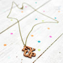 Ey Up Yorkshire Necklace
