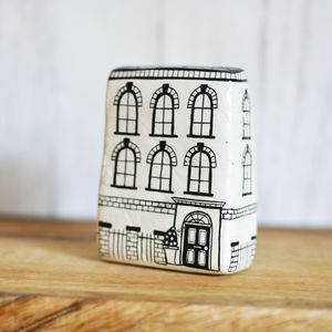 Handmade Ceramic Townhouse - view all new