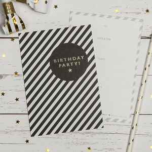 Birthday Party Invites - invitations