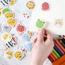 Cartoon Animals Sticker Pack