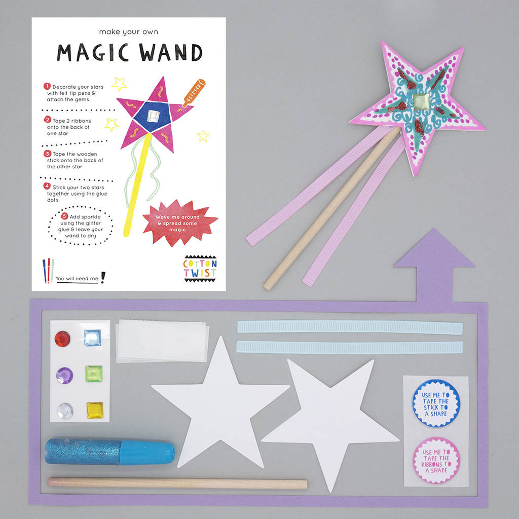 how to create a magic wand