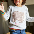 Personalised Organic Cosy Creature Jumper