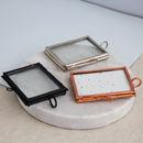 Mini Metal Hanging Photo Frame