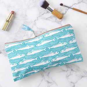 Nautical Make Up Bag - make-up & wash bags