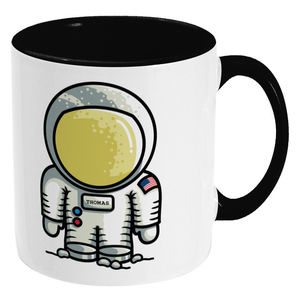 Personalised Cute Astronaut Ceramic Mug