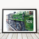 Classic Steam Train Print