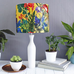 Exotic Tropical Lampshade For Interior Decor