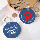 Personalised 'Pet Dad' Animal Lover Keyring