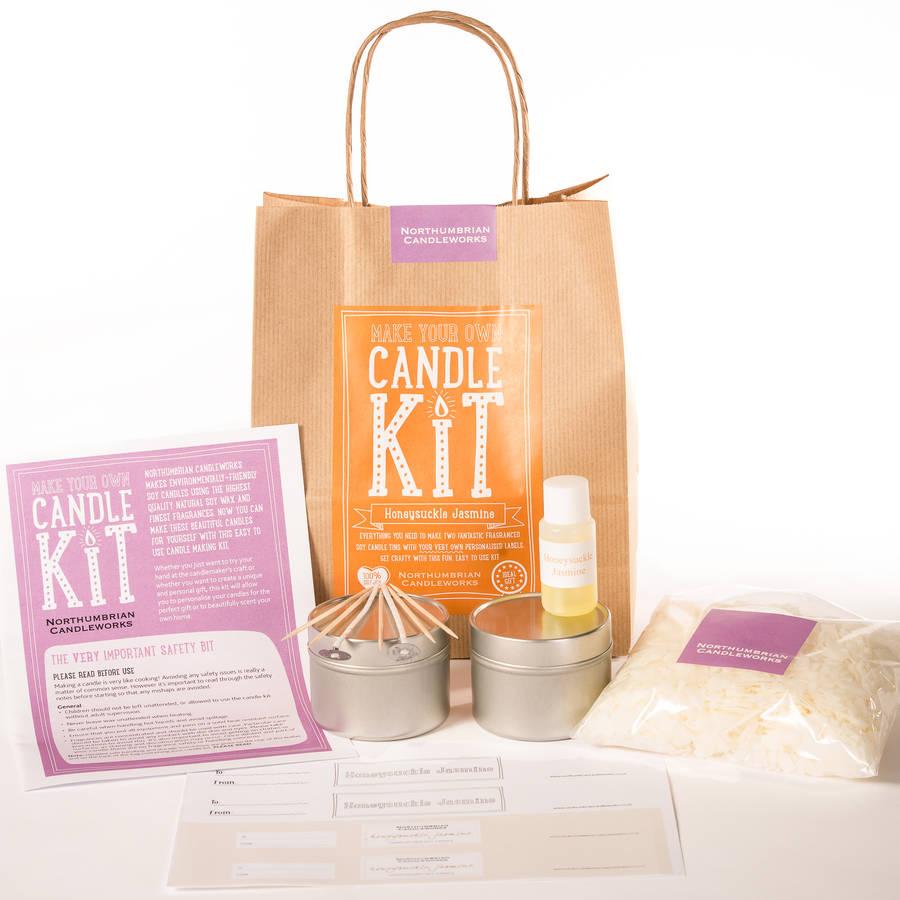 'Honeysuckle Jasmine' Candle Making Kit